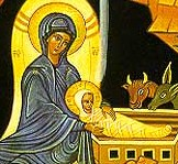 Nativity icon from Printery House --M08 - Cropped Copy--Mother & Child