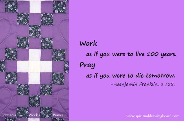 07 Lent--Week 1--Prayer--Franklin