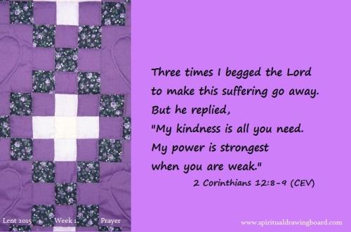 09 Lent--Week 1--Prayer--Corinthians