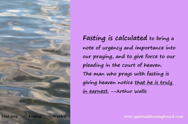 14 Lent--week 2--fasting--Wallis