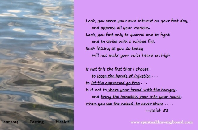 18 Lent--week 2--fasting--Isaiah