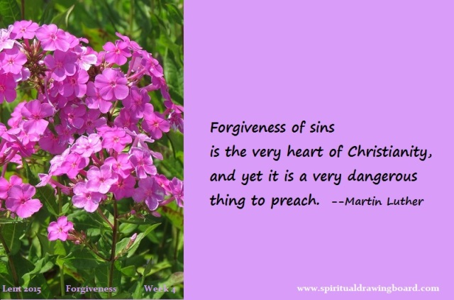 28 Lent--week 4--Forgiveness--Luther