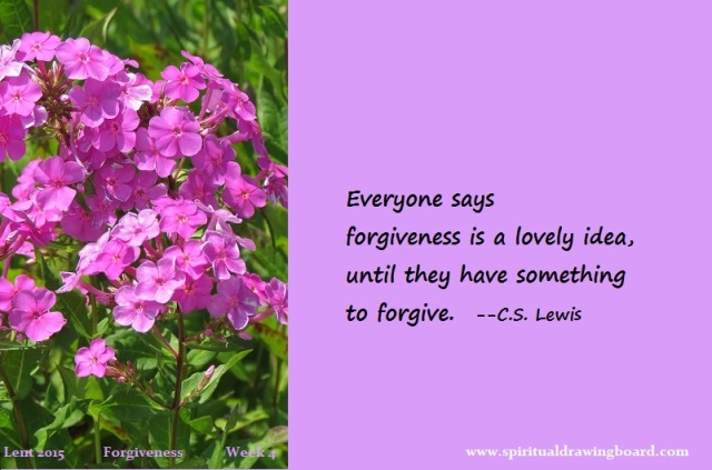 29 Lent--week 4--Forgiveness--CS Lewis