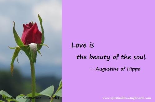 32 Lent-Week 5--Compassion--Augustine