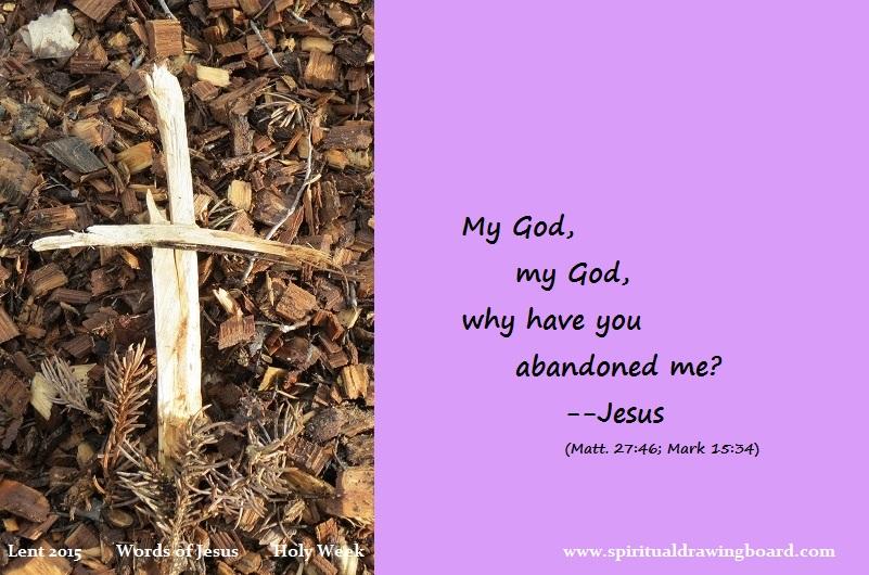 seven last words of Jesus – Spiritual Drawing Board