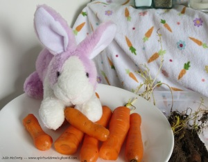 Yummy carrots!